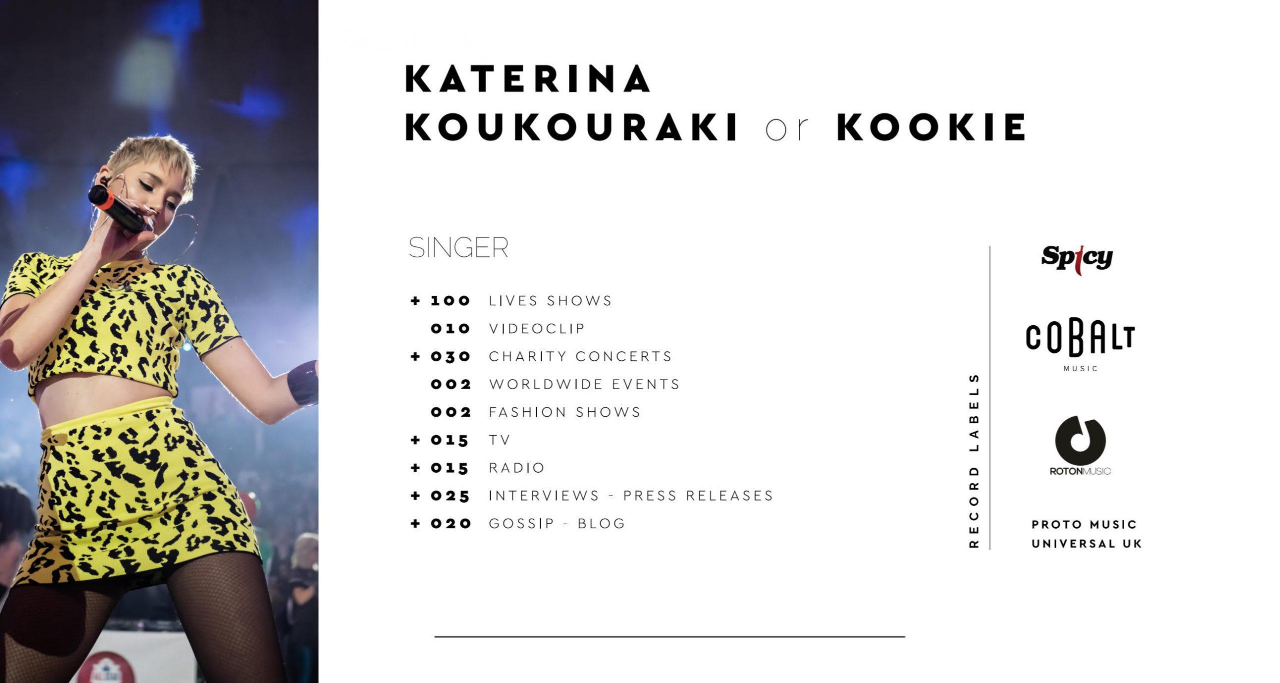 Κατερινα Κουκουρακη - Katerina Koukouraki - Biography